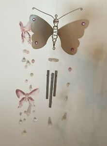 Pretty Butterfly Wind Chime and Mobile