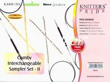 Knitter's Pride ::Second Comby Interchangeable Circular Needle Sampler Set::