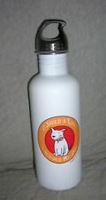 I Saved a Life   I Rescued my Dog  Aluminum water bottle   40 ounce   never used