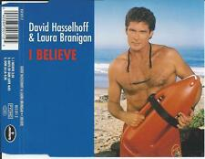 DAVID HASSELHOFF & LAURA BRANIGAN - I believe CD MAXI 3TR 1995 RARE!!