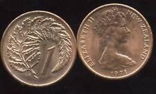 NOUVELLE ZELANDE 1 cent 1971 SPL