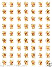 """63 Winnie the Pooh Envelope Seals / Labels / Stickers 1"""" Round"""