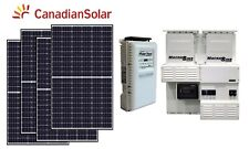 11 kW Solar Energy System Off grid panel panneau solaire cottage house home