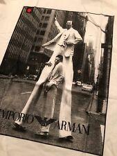 Emporio Armani T Shirt, Size XL White w/Armani Logo