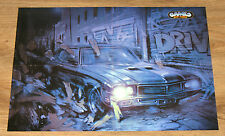 Driver (video game) / Legacy of Kain Soul Reaver very rare Poster 56x40cm