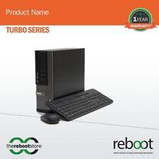 Reboot Turbo Series Dell Desktop Intel Core i3-4GB-500GB