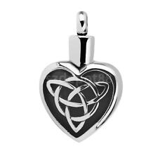 Mens Women Celtic Heart Knot Charm Pendant Necklace Fashion Jewelry Gifts