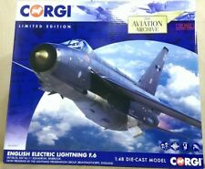 Corgi AA28401 English Electric Lightning F.6 XR728/JS 11 Sqn Ltd Edition of 2000
