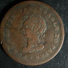 NS-22A Copper token 1838 Trade & Navigation Canada Nova Scotia Breton 967