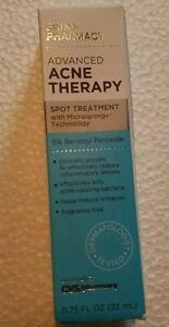 Skin + Pharmacy Advanced Acne Therapy Overnight Treat 5% Benzoyl peroxide 0.75oz