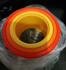 Tupperware Trio déco emporte pièces  Ø : 9 cm, 7,5 cm, 6 cm orange NEUF
