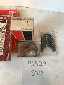 1976 1991 FORD MERCURY MAIN BEARINGS STD COUGAR BOBCAT RANGER TEMPO 140 4 CYL