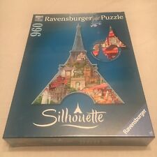Ravensburger 960 Piece Jigsaw Puzzle EIFFEL TOWER PARIS / France Silhouette NEW