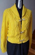 CARDIGAN donna  Ralph Lauren giallo nuovo bellissimo tg M