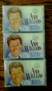 Cassette Readers Digest ANDY WILLIAMS Greatest Hits Finest Performaces  3 sealed