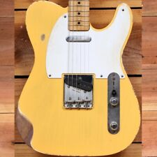FENDER 50s ROAD WORN TELECASTER Xtra Relic Guitar Blonde TV 95355