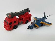 LOT - Vintage Hasbro Transformers 1987 Headmasters G1 Hosehead + 2010 Dirge ROTF
