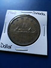 1962 Canadian Silver Dollar ($1), No Reserve!