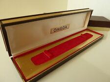 Retro Omega men's watch box in perfect condition