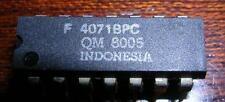 LOT DE 10 PIECES F 4071BPC = 74C32  F4071BPC  4 portes OU à 2 entrées