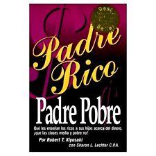 Padre Rico Padre Pobre By Robert Kiyosaki  Poor Negocios Finanzas Exito Rich