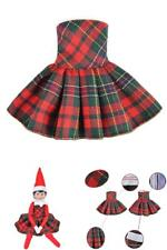 E-TING Claus Couture Clothing for Elf on the Shelf ( Doll Is Not Included )