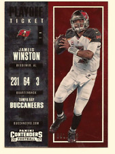 JAMEIS WINSTON 2017 PANINI NFL CONTENDERS PLAYOFF TICKET /249
