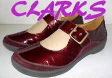 "Fabulous ""CLARKS"" PATENT Leather Mary Janes  Shoes  UK 6.5  EU 40  £75"
