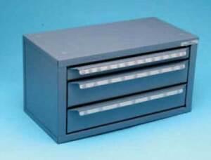 """Huot 1/16"""" to 1/2"""" x 64ths Jobber/Stub Length Drill Dispenser-Holds Full Pkg."""