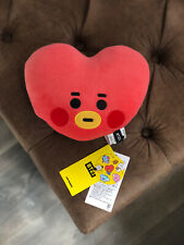 BTS BT21 Official Authentic Goods TATA Soft Baby Flat Face Cushion U.S SELLER
