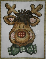 DMC COUNTED CROSS STITCH KIT 'Reindeer' STITCH SIMPLE
