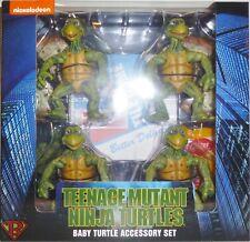 """BABY TURTLES ACCESSORY SET Teenage Mutant Ninja Turtles 4"""" Action Figure 2018"""