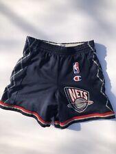 9a48eb76631 New ListingVintage Champion New Jersey NETS Brooklyn NBA shorts size 4T  TODDLER Blue Kids