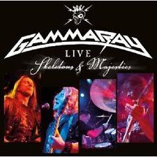 GAMMA RAY - LIVE-SKELETONS & MAJESTIES LIVE 2 CD BEST OF HEAVY METAL NEU