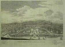 NIMES - Jardin de la Fontaine - Gritner - Kupferstich 1786