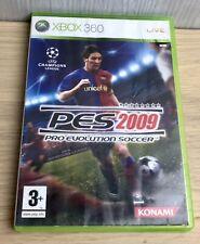 PES 2009 Xbox 360 Spiel Spaß Fußball Jagen Running Ziele Fun Shooting Game