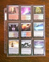 Magic The Gathering Collection Deckmaster Cards Artifact Land Mixed Lot Ultra