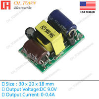 AC-DC 9V 400mA 3W Power Supply Buck Converter Step Down Module High Quality USA