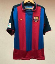 BARCELONA SPAIN 2003/2004 HOME FOOTBALL SHIRT SOCCER JERSEY NIKE CAMISETA RETRO