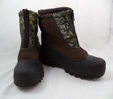 Itasca Youth Boys Size 4 Brown Camo Waterproof Winter Snow Boots