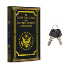 Portable Diversion Book Safe with Secret Compartment (Constitution of the US)