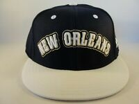 New Orleans Pelicans NBA Adidas Fitted Hat Cap Navy White