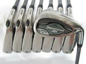 Used Callaway SteelHead XR Iron Set 4-P,A Regular Flex Graphite Shafts