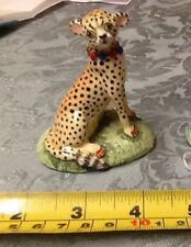 Exquisite signed Basil Matthews vintage English Cheetah BIG CAT hand crafted
