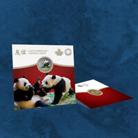 Kanada - The Peaceful Panda - 8 $ 2018 BU - Silber - Coincard - 8$