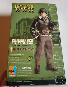 Gi Joe Action Figures Général Patton-Ensemble uniforme /& Dogtags-échelle 1//6