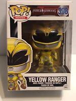 Funko Pop! Power Rangers #398 Yellow Ranger NEW