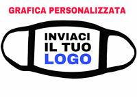 MASCHERINA VISO PERSONALIZZATA CON IL TUO LOGO O GRAFICA AZIENDALE MADE IN ITALY