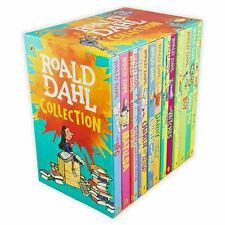 ROALD DAHL Collection 15+1 Books Box Set 16 Phizz Wizzing Fantastic Stories