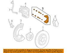 FORD OEM Brake-Rear-Caliper Bracket Right 6F9Z2B511C